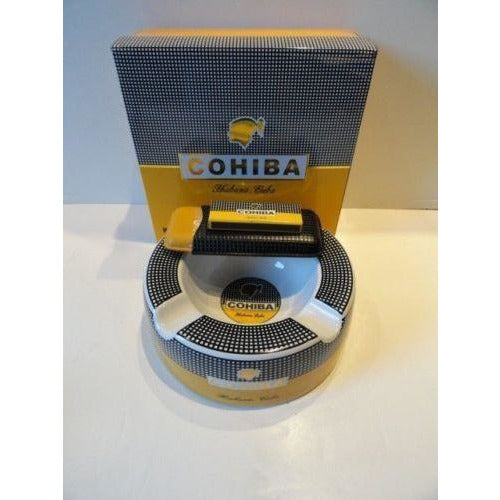 "cohiba 10""   ashtray &   case"