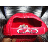 CAO MADURO RED LOGO BALL CAP