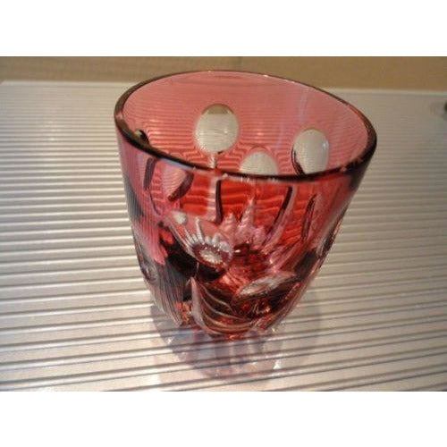 Faberge Na Zdorovya Vodka Crystal Ruby Red Edition Single Shot Glass
