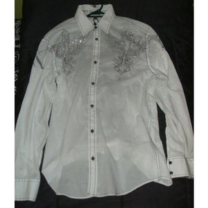 Roar Strength Refined mens medium casual designer dress shirt