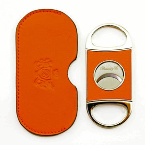 Brizard and Co. Double Guillotine Series 2 Cutter - Orange Leather