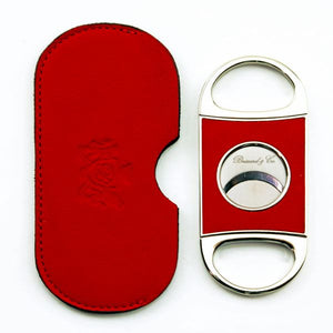 Brizard and Co. Double Guillotine Series 2 Cutter - Red Leather