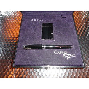 S.T.Dupont James Bond Casino Royale Collectors Set - L2 Lighter & FP Pre-owned
