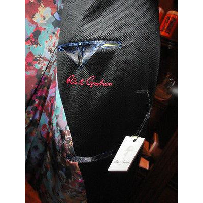 Robert Graham Undenwood Black  Blazer