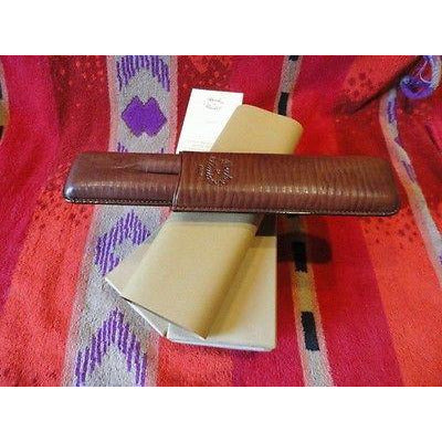 Becker & Musico Chocolate Brown Cigar Case for 2 cigars