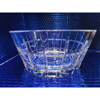 "Faberge  Metropolitan Clear Crystal 9"" Bowl in the original presentation box"