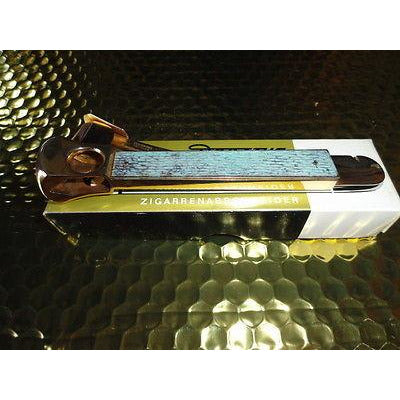 donatus solingen gold Plated  cigar cutter in  the original box