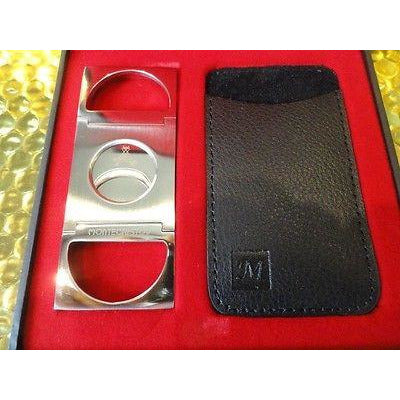 montecristo cigar cutter & crystal cigar ashtray new in the original box