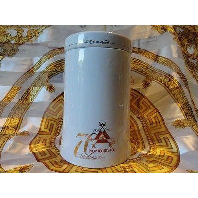 Montecristo  Ceramic Large size ceramic Jar only  without the original box