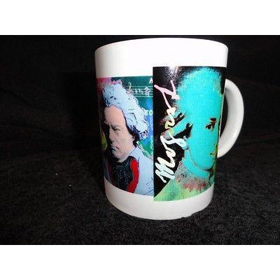 coffee mug signed by  Steve Kaufman A Mug for All Seasons