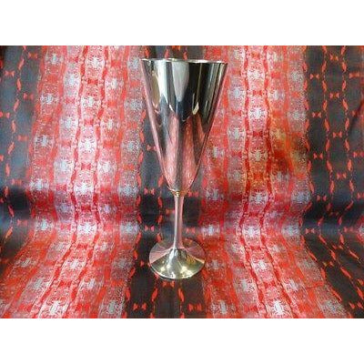 royal selangor champagne goblet pewter new in the original box