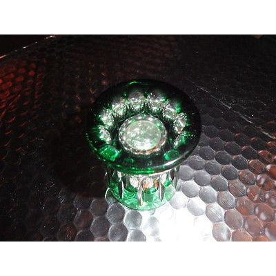 Faberge  Vodka Crystal Emerald Green  Single Shot Glass