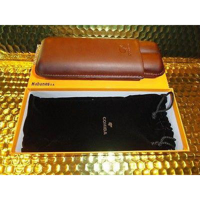 Cohiba Brown Leather case