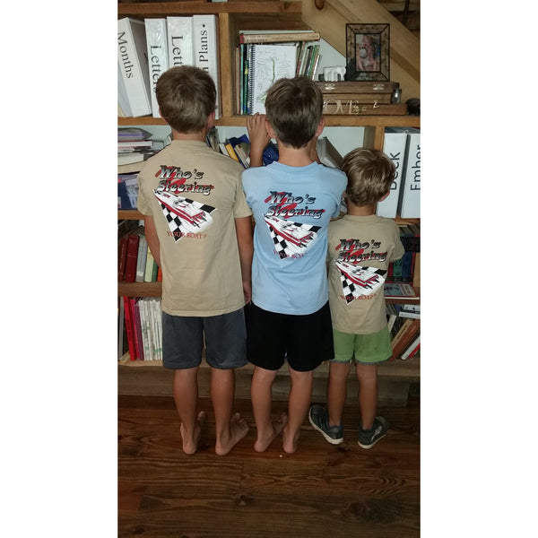 Marine Machine Kids T-shirts