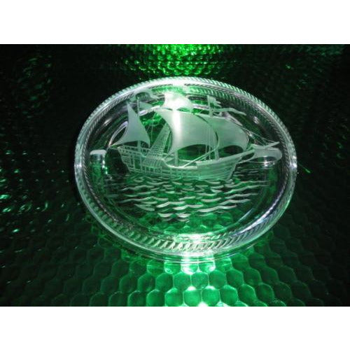 Lalique Santa Maria Ashtray