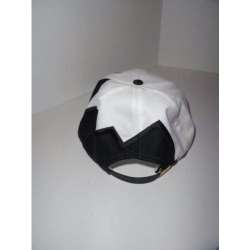 Marine Machine embroidered Black jagged edge baseball cap