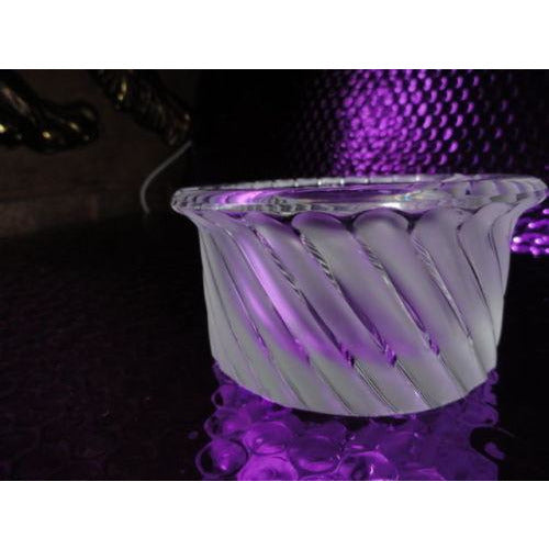 Lalique France Crystal Smyrne Ashtray