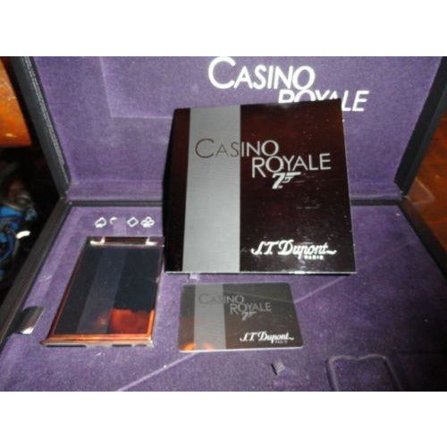 S.T. Dupont Casino Royale 007  Ltd Edition  Table Lighter
