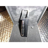 dupont james bond 007 black pvd key ring with time zone function model 003107