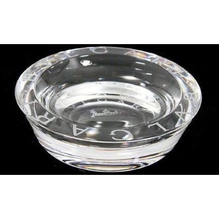 Bvlgari Crystal Ashtray by Rosenthal measures 4.75 inches in diameter