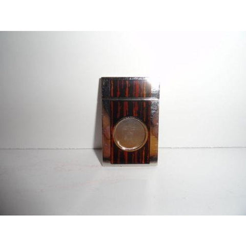 st dupont chrome & macassar cigar cutter