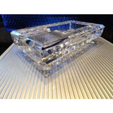 diamond crown Bristol crystal collection ashtray