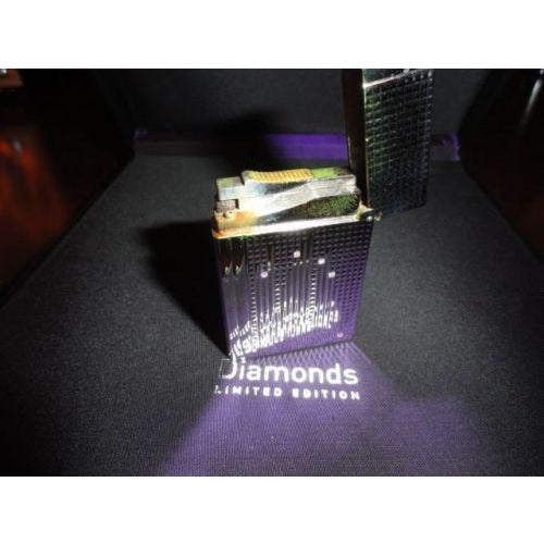 S.T.DUPONT DIAMOND DROPS LIMITED EDITION GATSBY LIGHTER
