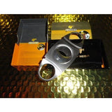COHIBA  Stainless Steel Dual Blades  Cutter new box with carrying pouch