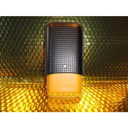 Cohiba Black & Gold Leather & wood  Case
