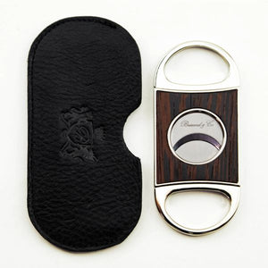 Brizard and Co. Double Guillotine Series 2 Cutter - Wenge and Black Leather