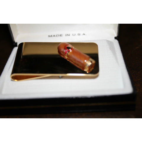 cigar money clip made in U.S.A.