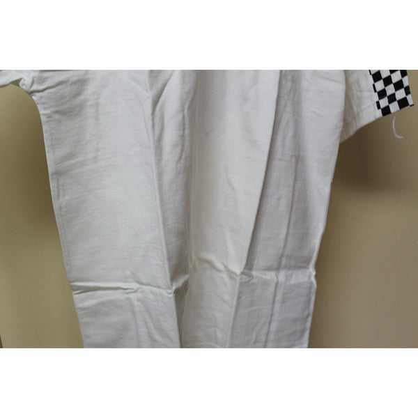 Ash City White Henley Shirt