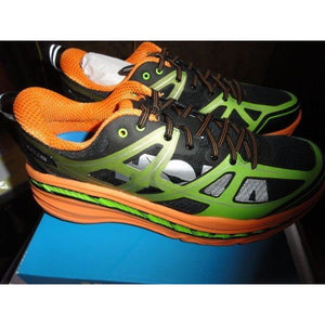 Hoka One One Mens Stinson 3 ATR Shoes 1008326 Bright Green / Persimmon 12.5