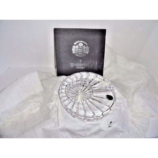 Solitaire Waterford Crystal Macanudo  Ashtray NEW!