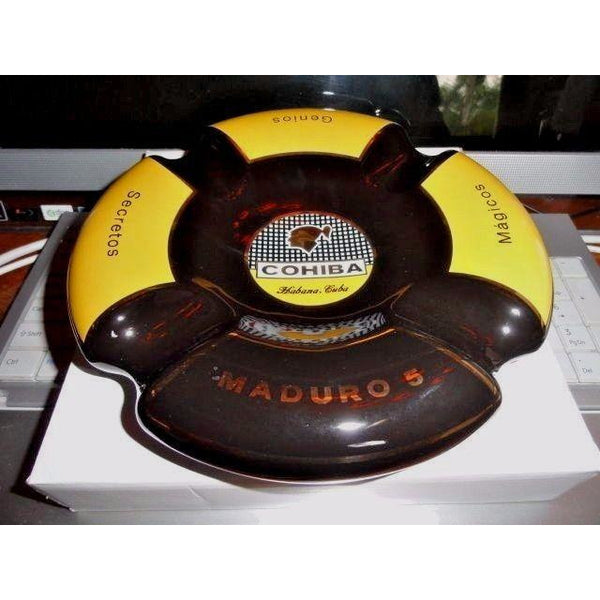 Cohiba Maduro 5 ashtray made by Byron in original  box