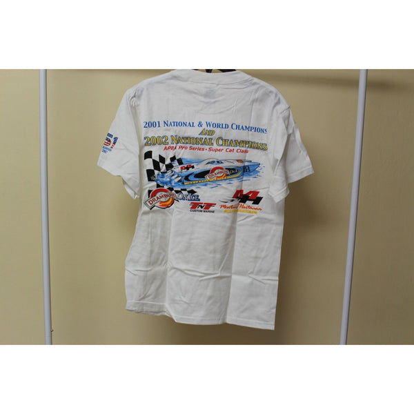 Fruit of the Loom Lofteez Driving Force Men's White Shirt