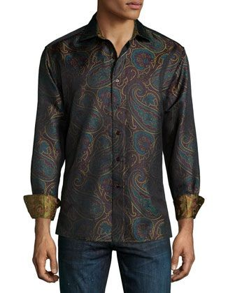 Robert Graham Jimmy Paisley Shirt