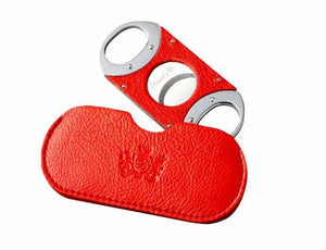 "Brizard and Co. The ""Double Guillotine"" Cigar Cutter - Sunrise Red"