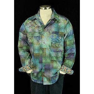 Robert Graham Medium-sized Shirt Preowned excellent condition