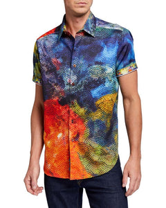 Robert Graham Mabson Large Shirt