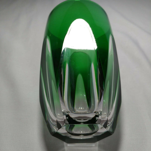 Faberge | Crystal Emerald Green Glass