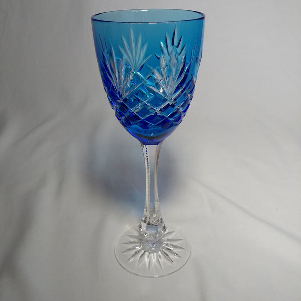 Faberge Odessa Sky Blue Crystal Glass