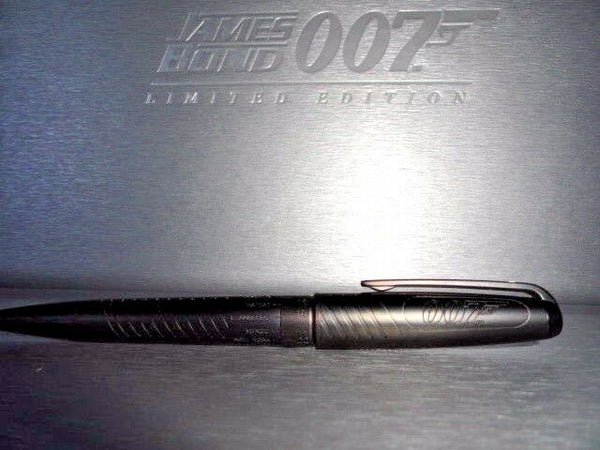 st dupont james bond 007 ball point pen  Black PVD