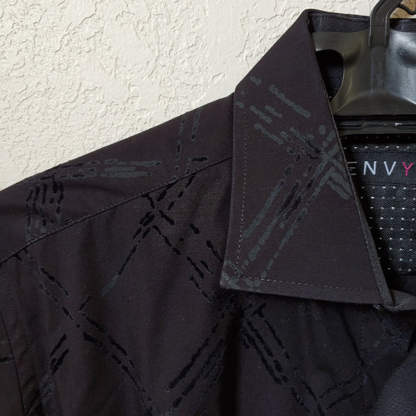 Envy | Black Long sleeve Button down Casual Shirt