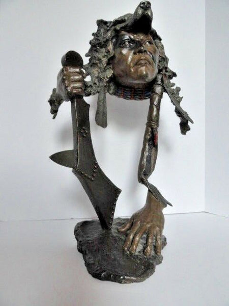 "Mark Hopkins Bronze Sculpture Limited Edition "" I Have Seen Tomorrow """