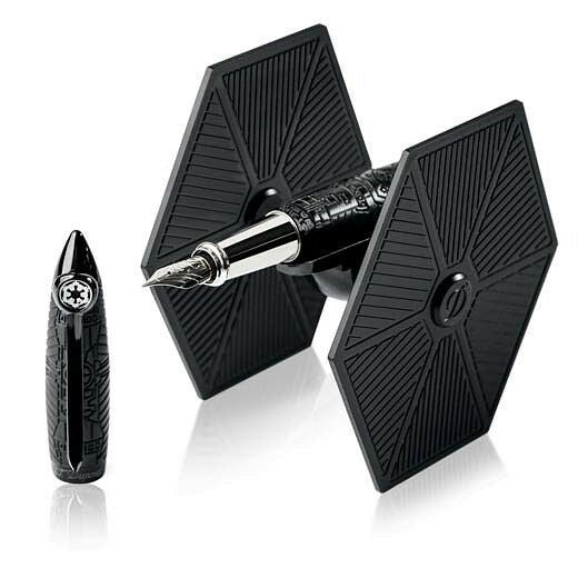 "S.T. Dupont Streamline ""Star Wars"" Tie Fighter Black Fountain Pen"