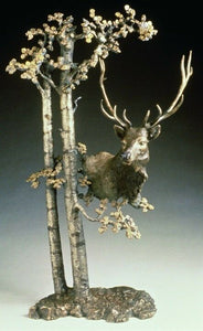 Mark  Hopkins Among the Aspen Ltd Edition Bronze Sculpture