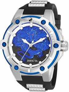 INVICTA | Speedway Stainless Steel Automatic Watch w/Black Strap | Model: 25778