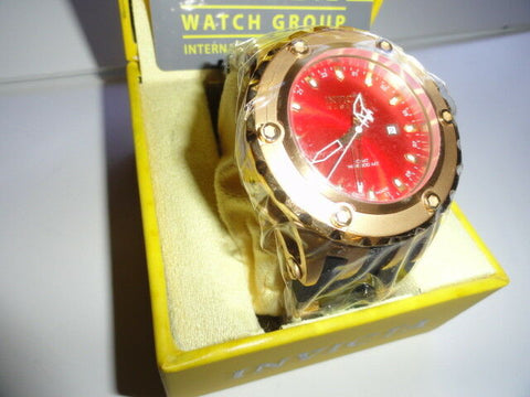 Invicta Subaqua Gold and Red Watch