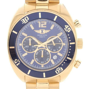 I by Invicta Men Model IBI90232-005 | Men's Watch Quartz | Stainless Steel Gold